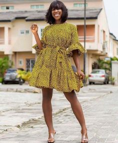 Lovely and Fabulous Ankara Styles 2019 African Fashion Ankara, Latest African Fashion Dresses, African Print Fashion, Short African Dresses, African Print Dresses, Ankara Stil, Ankara Dress, African Attire, The Dress