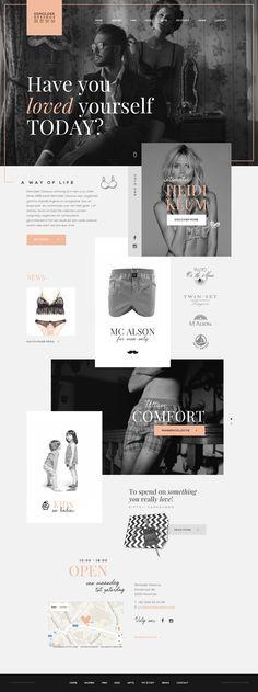 #webdesign #graphic #design for #lingerie #store Demolder Dessous in Herentals #antwerp - Webdesign by https://www.weblounge.be