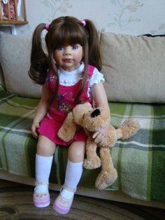 Сбывшаяся мечта! Коллекционная кукла Брук от Моники Левениг / Другие коллекционные куклы / Бэйбики. Куклы фото. Одежда для кукол Reborn Toddler Girl, Pretty Baby, Harajuku, Babies, Dolls, Collection, Style, Fashion, Baby Dolls