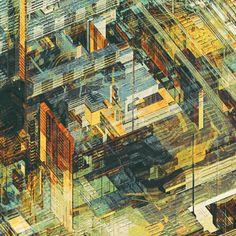 Art Tile for Adobe Creative Cloud Mosaic by atelier olschinsky, via Behance