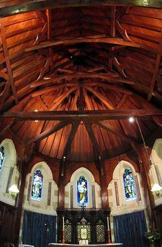 St Barnabas Church, Norfolk Island by LSydney, via Flickr Travel Oz, Wake Island, Norfolk Island, Fraser Island, Ancient Buildings, Church Of England, Australia, Mosques, Small Island