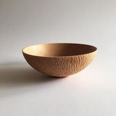 Sometimes the simple forms are the most beautiful. #wood #bowl Social | David c Petersson