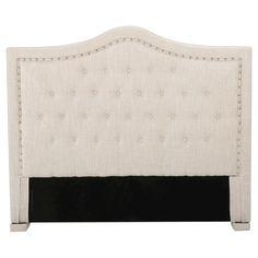 Dante Full/ Queen Upholstered Tufted Headboard - Light Beige - Christopher Knight Home