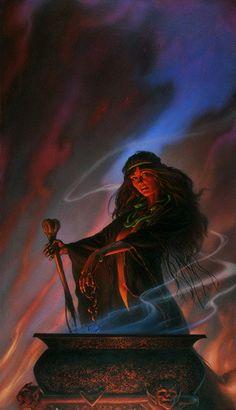 То же неделание, только в профиль - Три возраста ведьмы : Мать
