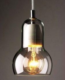 Bulb pendant lamp by Sofie Refer.