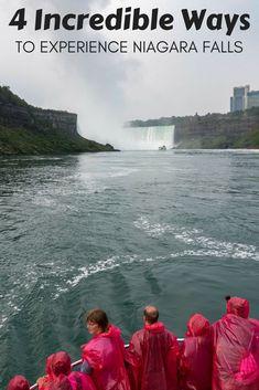 4 Incredible Ways To Experience Niagara Falls, Ontario, Canada (scheduled via http://www.tailwindapp.com?utm_source=pinterest&utm_medium=twpin)