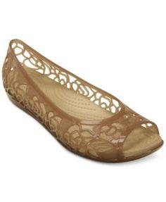 bf871cf9d471e6 Crocs Women s Isabella Flats Shoes - Flats - Macy s