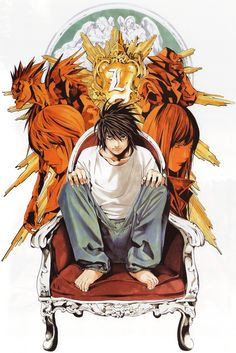 Death Note HQ Manga Poster