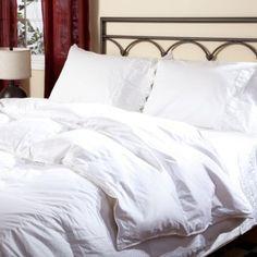 White Down Comforter...I love mine