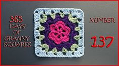 (2) 365 days of granny squares 137 - YouTube
