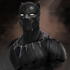 Only two more weeks until hits theaters in the US. This is a preliminary design I did for the head for Civil War. Black Panther Marvel, Black Panther Images, Black Panther King, Marvel Art, Marvel Heroes, Captain Marvel, Marvel Avengers, Marvel Comics, Marvel Images