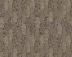 Tapete A. Kollektion Around The World Vliestapete Mustertapete Farbe: Braun  Größe: Ca X M