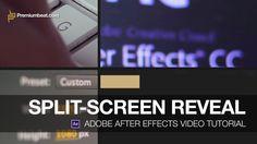 Adobe After Effects Video Tutorial: Split Screen Reveal on Vimeo