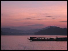 Evening on the Mekong. Luang Prabang, Laos, 2011.