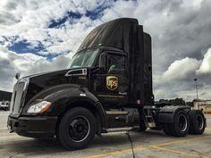 FEC 300657 Flatbed Rail Car Piggy Back UPS Truck Trailer United ...