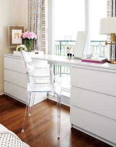 My Ikea Malm Dresser Hack The Pink Dream. 40 IKEA Malm Dresser Hacks ComfyDwelling Com. Askvoll Similar Ikea Nyvoll Dressers Home Improvement . Home and Family Ikea Malm Series, Ikea Home Tour Series, Ikea Malm Dresser, Dresser Desk, Diy Dressers, Ikea Malm Bed, White Desk And Dresser, Ikea Malm Table, Malm Drawers