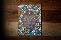 2015 Tea Towel Calendar