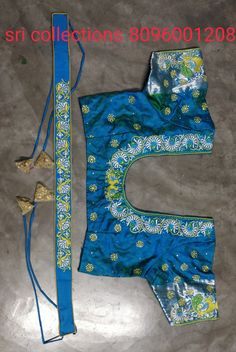 Embroidery Blouses, Embroidery Works, Indian Embroidery, Machine Embroidery, Embroidery Designs, Peacock Blouse Designs, Best Blouse Designs, Half Saree Designs, Methi Recipes