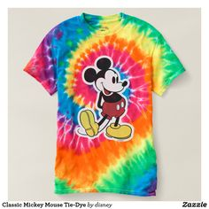 Classic Mickey Mouse Tie-Dye