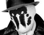 Moving Inkblot Rorschach Mask from Watchmen