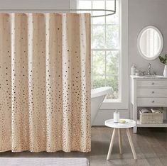 Shop for Intelligent Design Liv Printed Shower Curtain Option. Get free delivery On EVERYTHING* Overstock - Your Online Shower Curtains & Accessories Store! Get in rewards with Club O! Intelligent Design, Modern Curtains, Colorful Curtains, Country Curtains, First Apartment Essentials, Apartment Checklist, Shower Curtain Rings, Rose Gold Shower Curtain, Fabric Shower Curtains