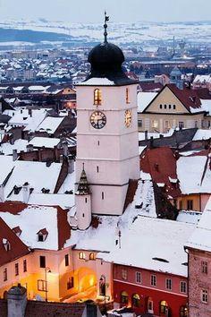 Bulgaria, Romania Travel, International Travel Tips, Medieval Town, Sibiu Romania, Eastern Europe, Places To Go, Transylvania Romania, City