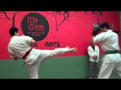 Sparring -- Second Stripe/Green Belt Test -- 9/13