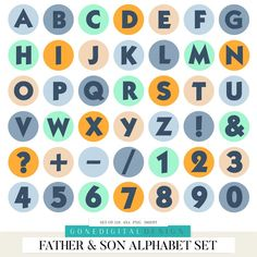 Father's Day Printable, Printable Letters, Printable Planner Stickers, Journal Stickers, Alphabet Stickers, Good Notes, Aesthetic Stickers, Cute Stickers, Sticker Design