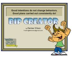The Behavior Intervention Plan Bip Builder From Skills Is The