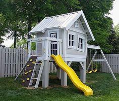 Playground Ideas Backyard for Kids_34