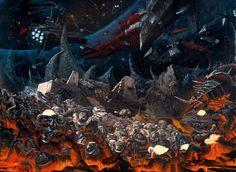 Warhammer 40000,warhammer40000, warhammer40k, warhammer 40k, ваха, сорокотысячник,фэндомы,art,арт,красивые картинки,Imperium,Империум,Chaos (Wh 40000),Black Legion,Dark Angels,death wing