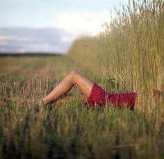 Evgeniy-Korchak-women-photography - Fashion with stripes polka dots and pom poms - myLusciousLife.com.jpg