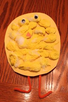 Chick craft (really cute!)