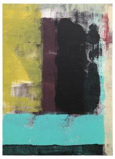 Acrylic on Paper 2013   (Lauria Family Collection)  #samo4prez #art #artonpaper #abstract