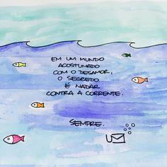 """um-cartao: """" Porque amar é a maré. """""""