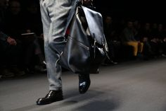Gucci Men's FW 2013-2014 Runway Show.    Gucci certainly put out some nice men's bags!!!