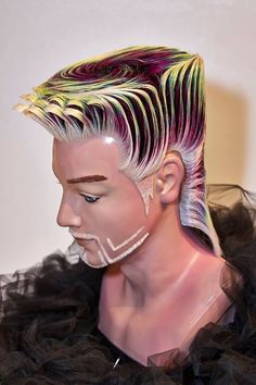Hair is a canvas for your imagination. Work Hairstyles, Creative Hairstyles, Competition Hair, Avant Garde Hair, Hair Reference, Fantasy Hair, Wig Making, Wild Hair, Hair Shows
