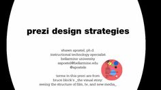 Prezi Design Strategies