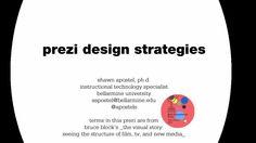 Prezi Design Strategies