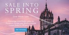 Sale into Spring - https://traveloni.com/vacation-deals/sale-into-spring/ #gocruising #windstar #saleintospring