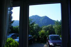 Widoki na góry z naszej Zwinki w Szczawnicy