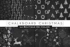 Chalboard Christmas