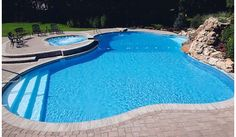Inground Pool Design-Home and Garden Design Ideas
