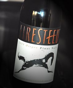 2009 Firesteed Pinot Noir - Light and drinkable, smooth, has a bit of oak and dryness, good with Salmon, lighter dishes, and soft cheeses