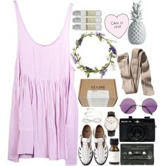 can you not by vanessa1313 on Polyvore featuring moda, Friend of Mine, H&M, Daniel Wellington, Topshop, Le Labo, Holga, Comme des Garçons and Kiss The Sky