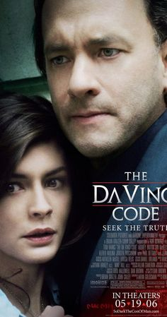 Directed by Ron Howard.  With Tom Hanks, Audrey Tautou, Jean Reno, Ian McKellen. A murder inside the Louvre and clues in Da Vinci paintings lead to the discovery of a religious mystery protected by a secret society for two thousand years -- which could shake the foundations of Christianity.