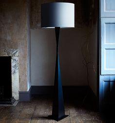 Metal Contemporary Ava Floor Light