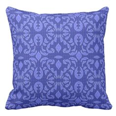 Nautic-Isle-Blueberry-Indoor_Outdoor Throw Pillow #pillows #stylish #nautical designer inspiration