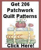 Patchwork Quilt Patterns - Free Scrap Quilt Patterns