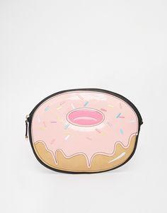 Image 1 ofNew Look Doughnut Clutch Bag